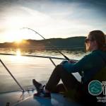Pêche de fin de journée en eau calme