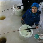 Il n'y a pas d'âge pour débuter la pêche à l'éperlan