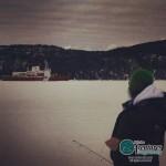 On pêche parfois très près du brise-glace